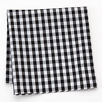 Croft & Barrow® Checked Pocket Square - Men