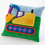 Olive Kids Under Construction Square Pillow