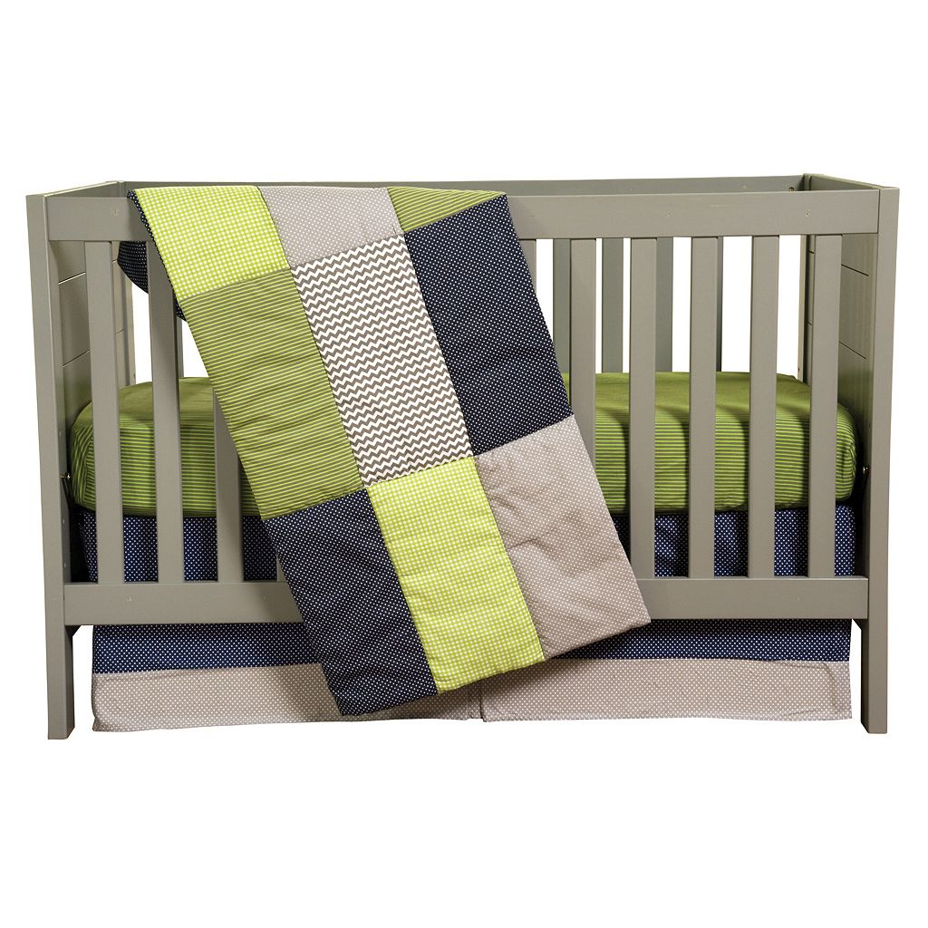 Trend Lab Perfectly Preppy 3-pc. Crib Bedding Set