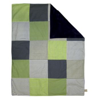 Trend Lab Perfectly Preppy Receiving Blanket