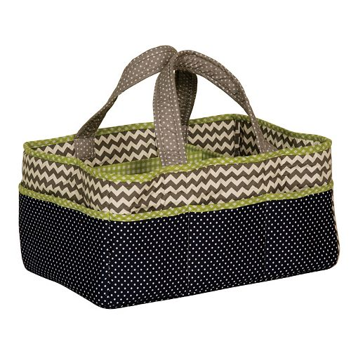 Trend Lab Perfectly Preppy Diaper Storage Caddy