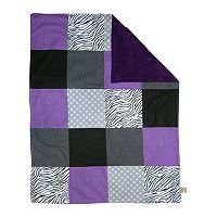 Trend Lab Grape Expectations Patchwork Blanket