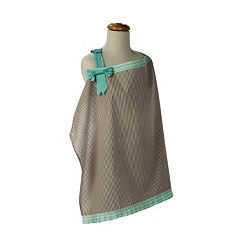 Trend Lab Cocoa Mint Nursing Cover