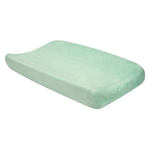 Trend Lab Cocoa Mint Changing Pad Cover