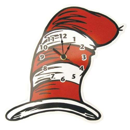 Trend Lab Dr. Seuss The Cat in the Hat Wall Clock