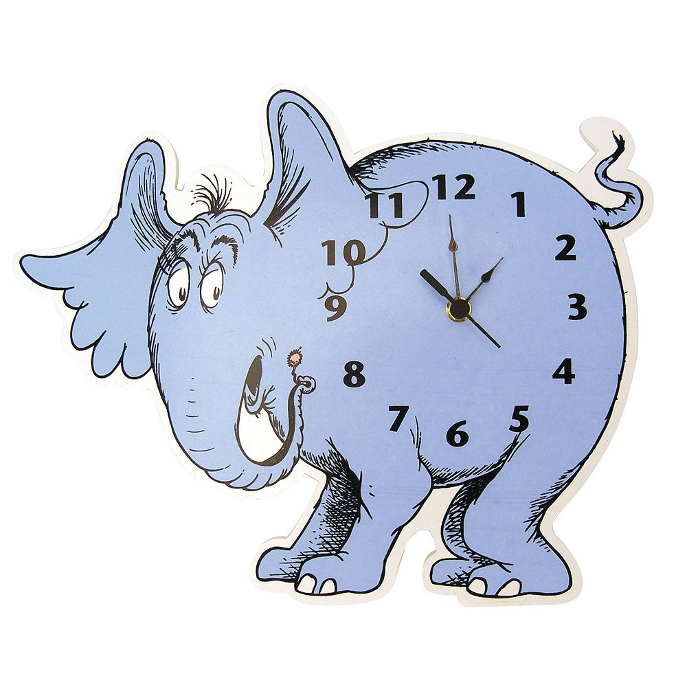 Trend Lab Dr. Seuss Horton Hears A Who! Wall Clock