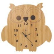 Trend Lab Northwoods Owl Wall Clock
