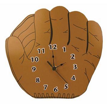 Trend Lab Little MVP Baseball Glove Wall Clock