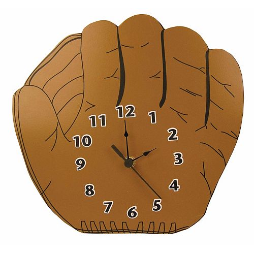 Trend Lab Little MVP Baseball Glove Wall Clock