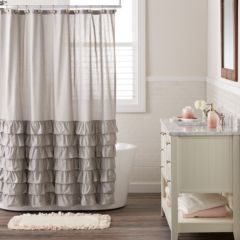 Grey Shower Curtains Shower Curtains Accessories Bathroom Bed