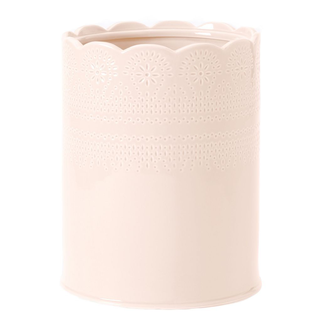 LC Lauren Conrad Lace Waste Basket