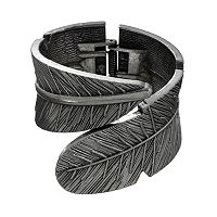 Mudd® Feather Cuff Bracelet
