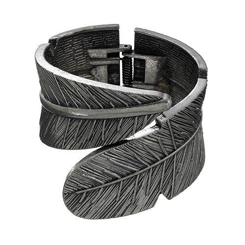 Mudd® Feather Cuff Bracelet