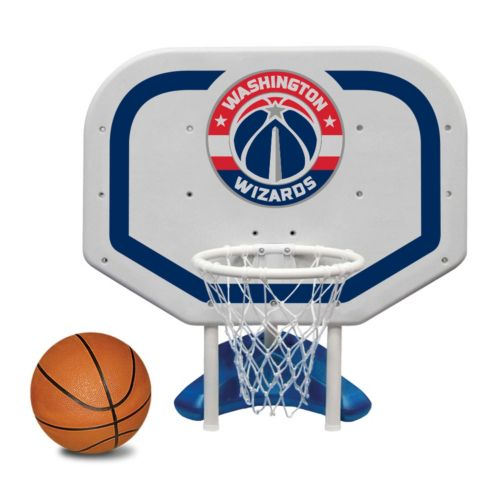 Poolmaster Washington Wizards NBA Pro Rebounder Poolside Basketball Game
