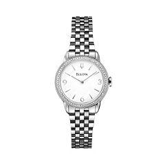 Bulova Watch - Women's Diamond Gallery Winslow Stainless Steel - 96R181