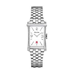Bulova Watch - Women's Diamond Gallery Winslow Stainless Steel - 96R187