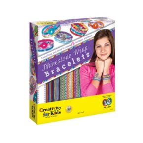 Creativity for Kids Rhinestone Wrap Bracelets Kit