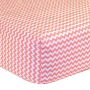 Trend Lab Fitted Chevron Crib Sheet