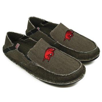 Men's Arkansas Razorbacks Cazulle Canvas Loafers