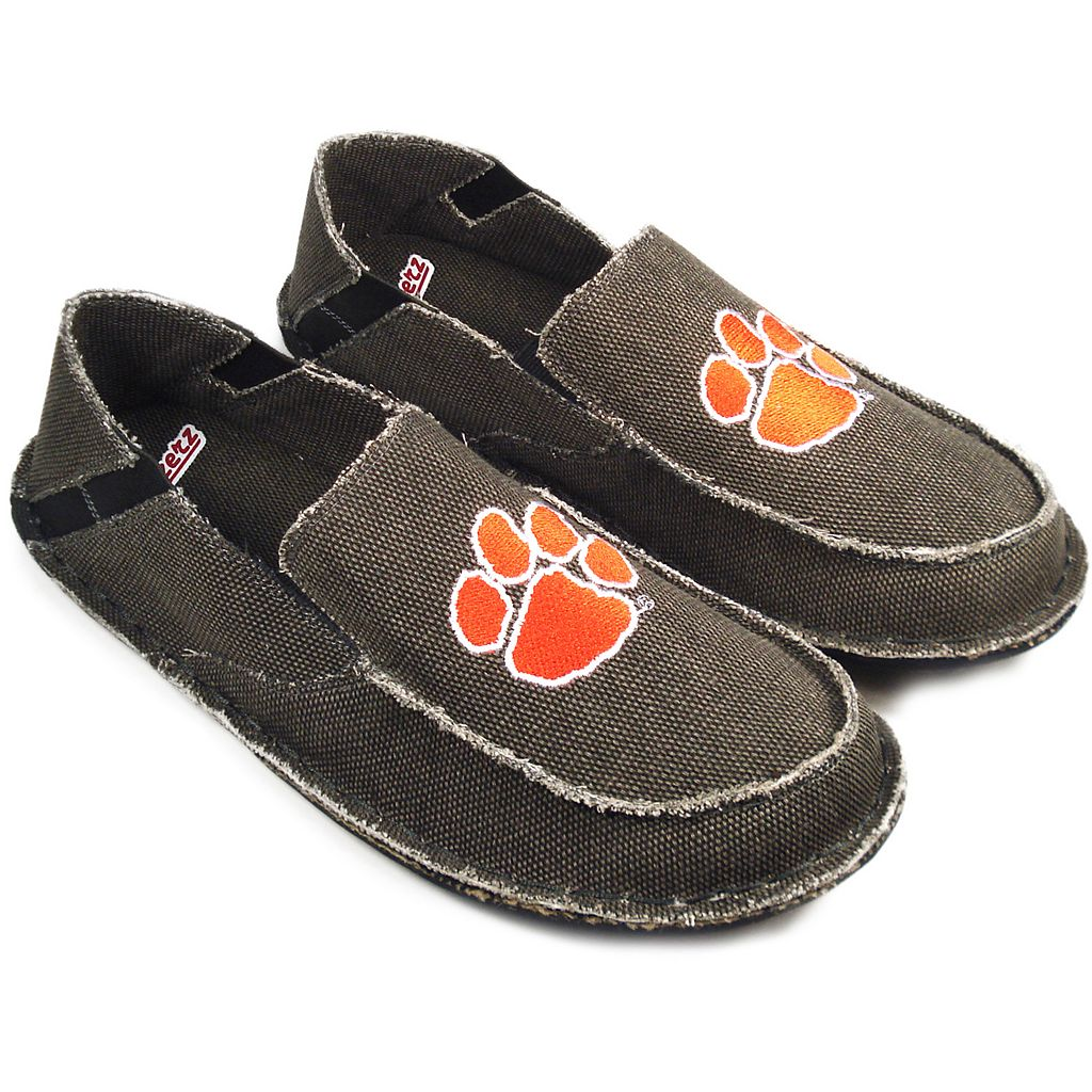 Men's Clemson Tigers Cazulle Canvas Loafers