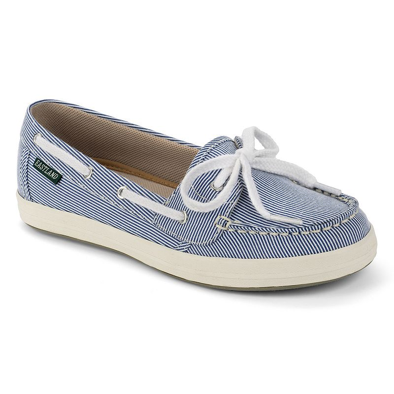 Eastland Skip Canvas Slip-On Boat Shoes - Women