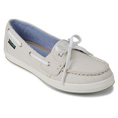 4d0e65b66a9 Eastland Skip Women s Canvas Boat Shoes