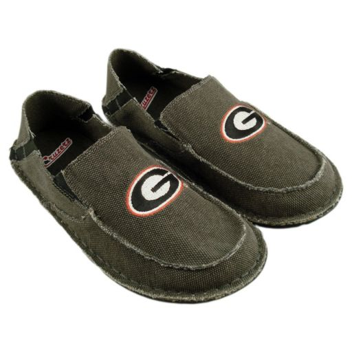 Men's Georgia Bulldogs Cazulle Canvas Loafers