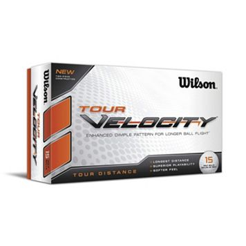 Wilson 15-pk. Tour Velocity Tour Distance Golf Balls