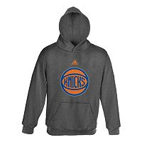 adidas New York Knicks Promo Fleece Hoodie - Boys 8-20