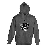 adidas Brooklyn Nets Promo Fleece Hoodie - Boys 8-20