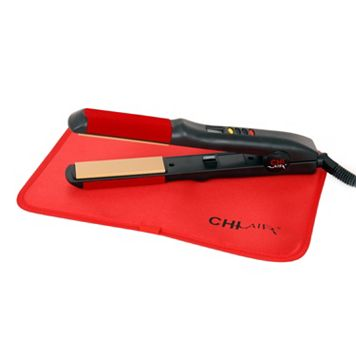 CHI Air Turbo 1-in. Digital Ceramic Flat Iron with Thermal Mat
