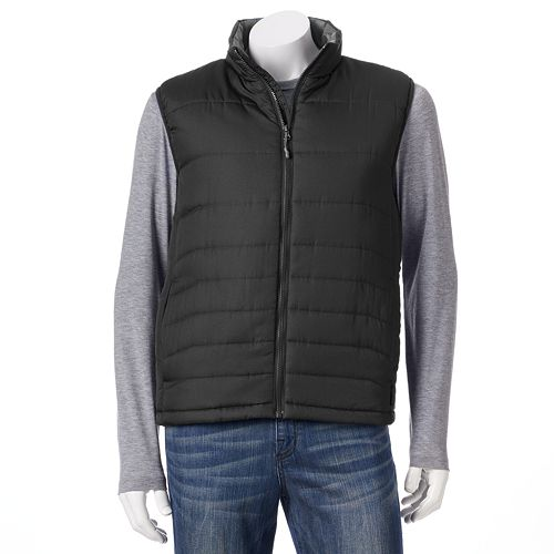 Pacific Trail Solid Puffer Vest - Men