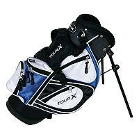 Merchants of Golf Tour X Right Hand 3-Club Junior Golf Club & Bag Set - Youth