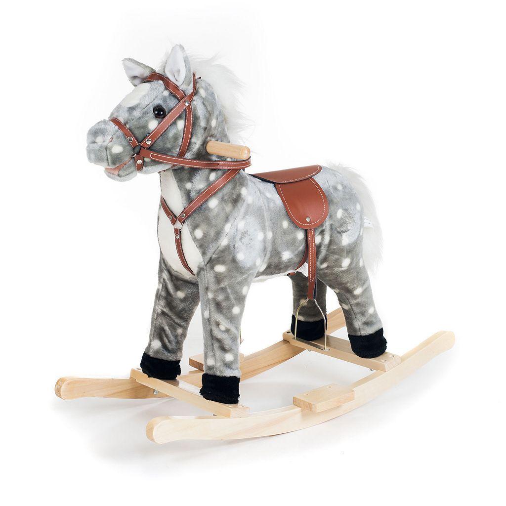 Happy Trails Plush Rocking Haley Horse