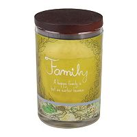 WoodWick 9.5-oz. Inspirational Family Jar Candle