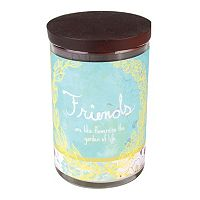 WoodWick 9.5-oz. Inspirational Friends Jar Candle