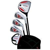 Merchants of Golf Tour X Right Hand 5-Club Junior Golf Club & Bag Set - Youth