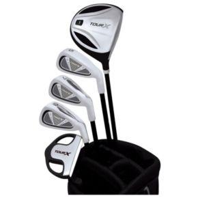Merchants of Golf Tour X Left Hand 5-Club Junior Golf Club and Bag Set - Youth