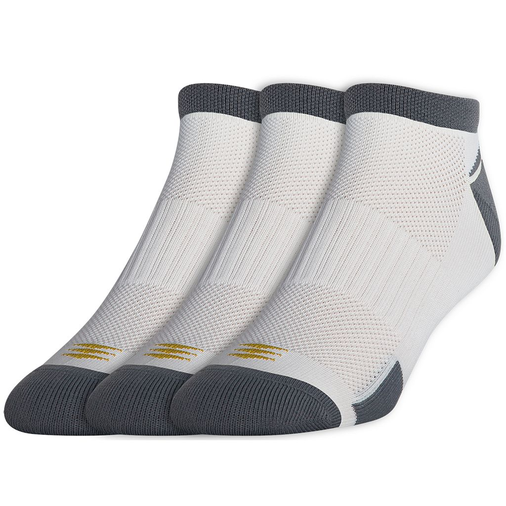 Men's GOLDTOE PowerSox 3-pk. No-Show Socks