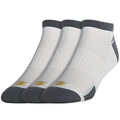 Men's GOLDTOE PowerSox 3 pkNo-Show Socks