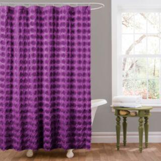 Lush Decor Emma Fabric Shower Curtain