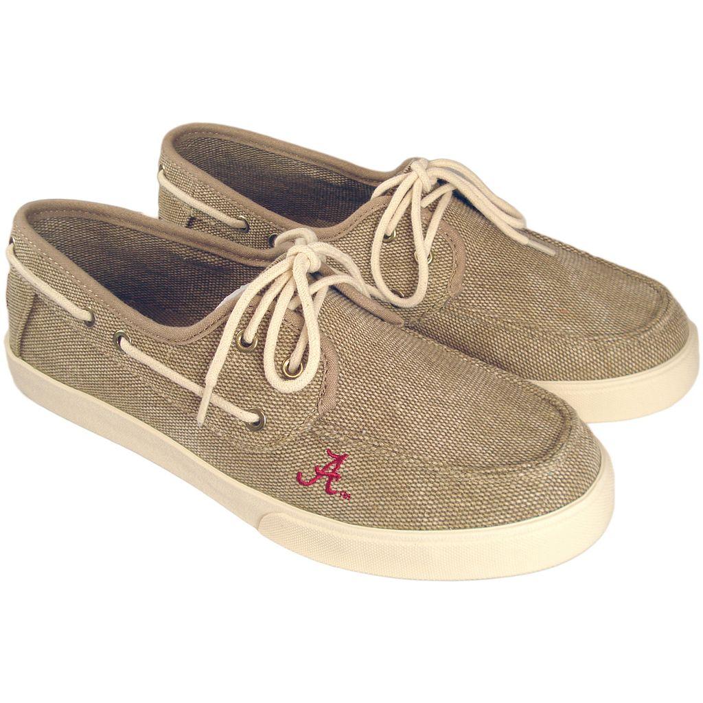 Men's Alabama Crimson Tide Captain Boat Shoes