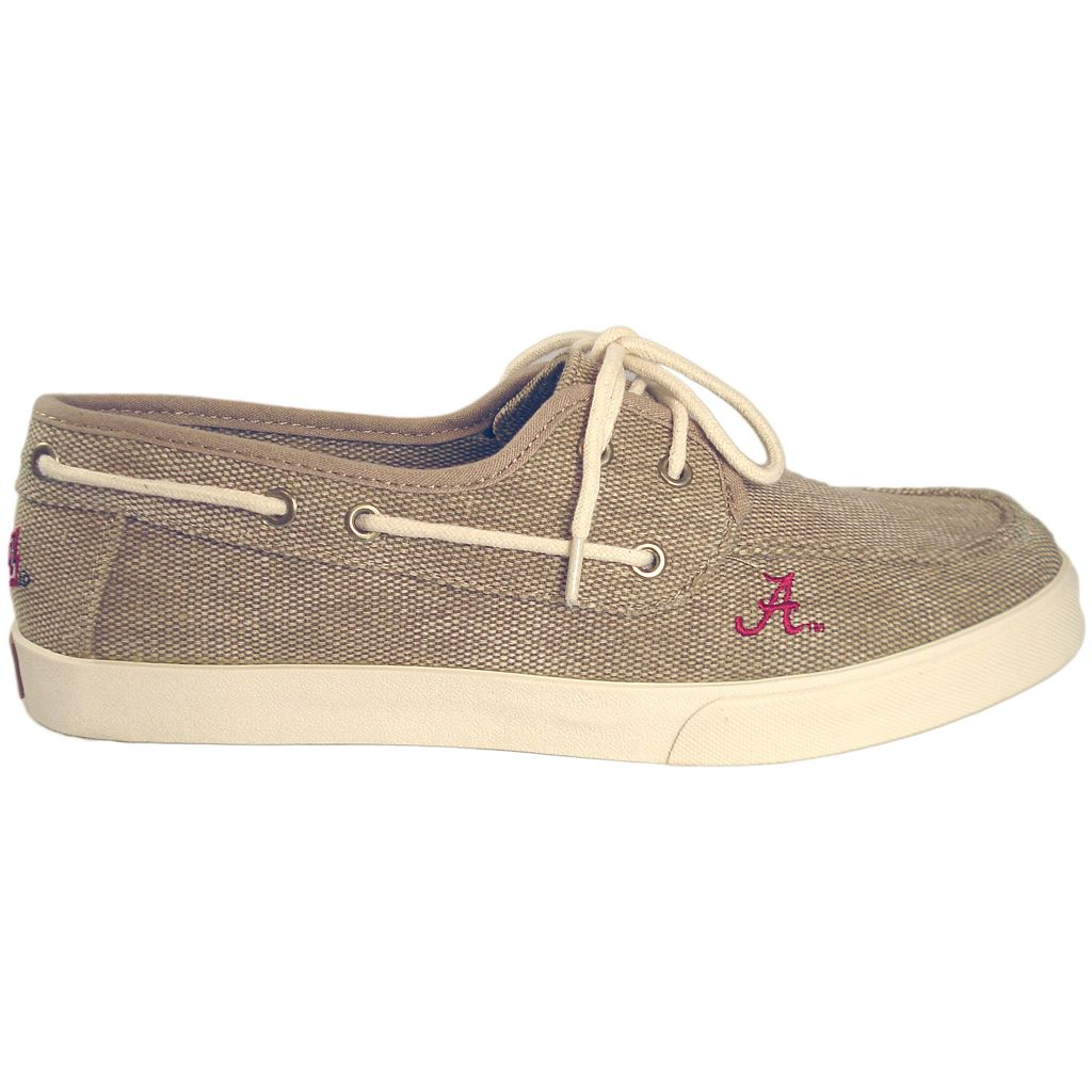 Men's Alabama Crimson Tide Captain Boat Shoes