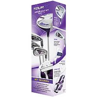 Merchants of Golf Tour X Right Hand 5-Club Golf Club & Bag Set - Girls