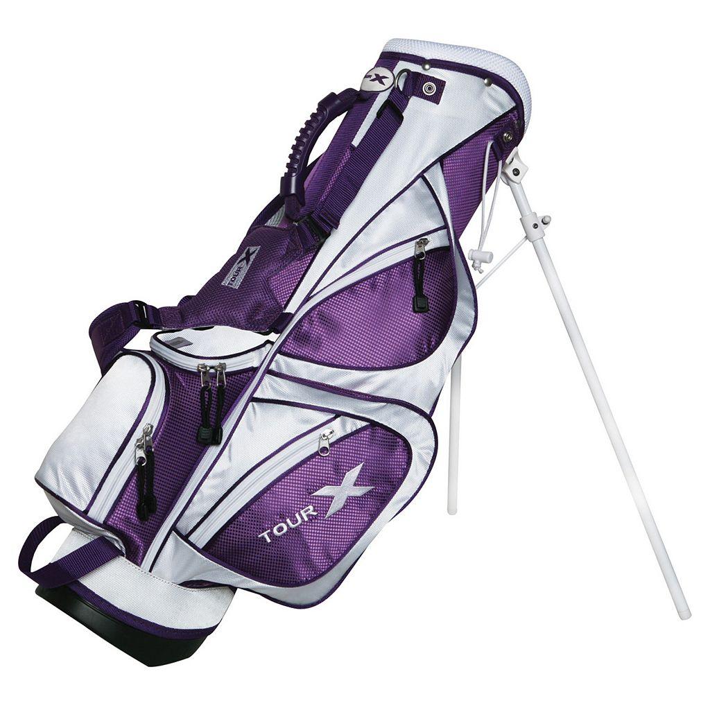 Merchants of Golf Tour X Right Hand 5-Club Golf Club and Bag Set - Girls