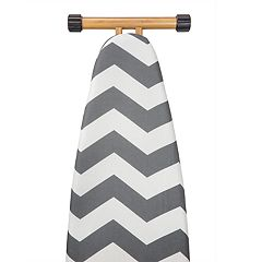 The Macbeth Collection Chevron Graphite Ironing Board Cover