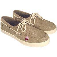 Men's Indiana Hoosiers Captain Boat Shoes