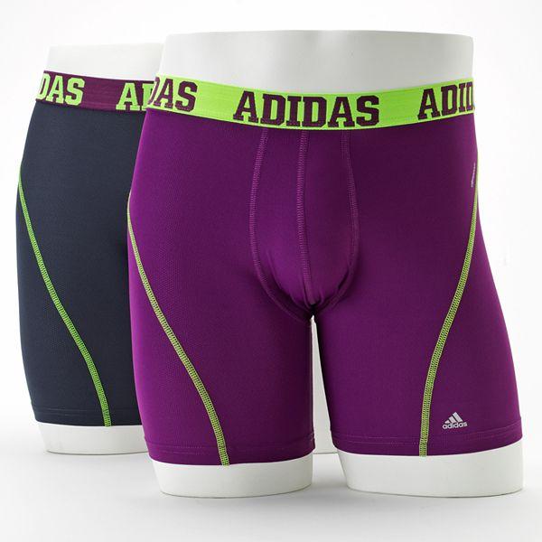 adidas 2-pk. ClimaCool Boxer Briefs - Men