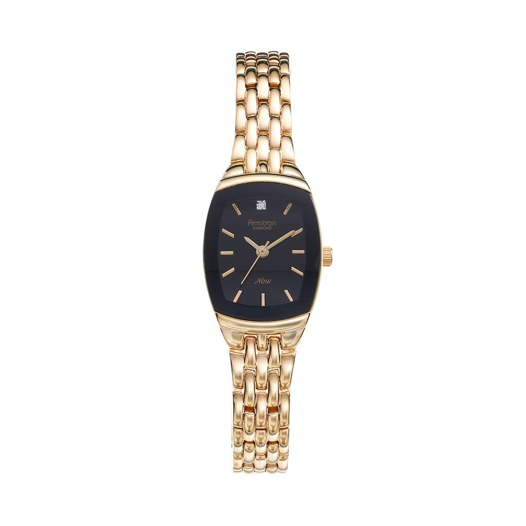 Armitron Women's NOW Diamond Watch - 75/5195BKGP