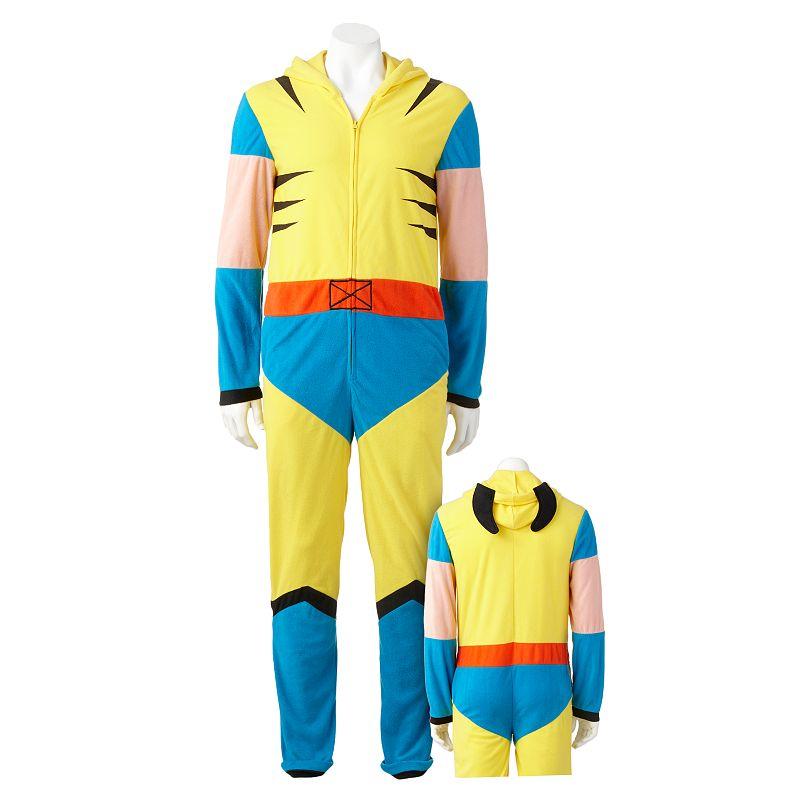 X-Men Wolverine Hooded Union Suit - Men